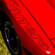 Red Carrera Art Print by Phil 'motography' Clark