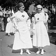 Red Cross Parade, 1918 Art Print