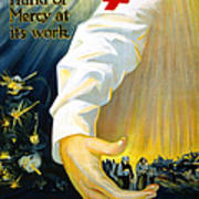 Red Cross Poster, 1918 Art Print
