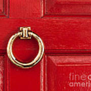Red Door 01 Art Print