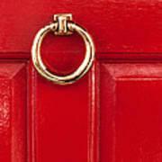 Red Door 02 Art Print