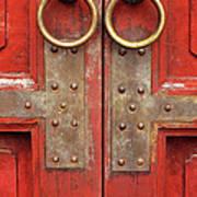 Red Doors 02 Art Print