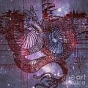 Red Dragon 2 Art Print