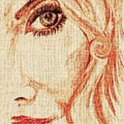 Red Eyes.  Art Print