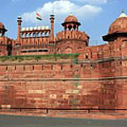 Red Fort New Delhi India Art Print