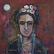 Red Frida 2013 Art Print