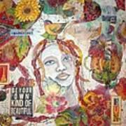 Red Girl 27 Art Print