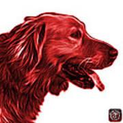 Red Golden Retriever - 4047 Fs Art Print
