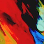 Red Hot Fiesta  Art Print
