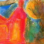 Red House 3 Art Print