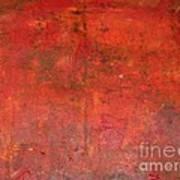 Red Jasper Stone Art Print