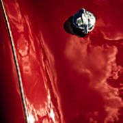Red Jupiter Sky Art Print by Phil 'motography' Clark