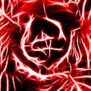 Red Lettuce Art Print