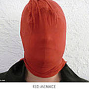 Red Menace Art Print by Lorenzo Laiken