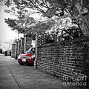 Red Mini Cooper- The Debut Art Print