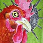 Red Nugget Art Print