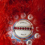 Red Phone For Emergencies Art Print