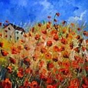 Red Poppies 562111 Art Print