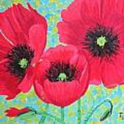 Red Poppis Art Print