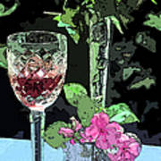 Red Red Wine Art Print