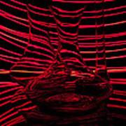 Red Rhythm IIi Art Print