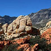 Red Rock Canyon 2 Art Print