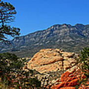 Red Rock Canyon 4 Art Print