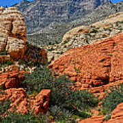 Red Rock Canyon 6 Art Print