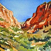 Red Rock Summer Art Print