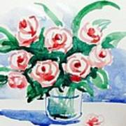 Red Rose For Her Art Print