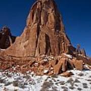 Red Sandstone Arches National Park Utah Art Print
