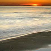 Red Sea Sunset Art Print