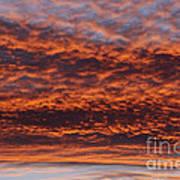 Red Sky Art Print by Michal Boubin