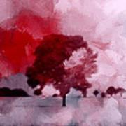 Red Sky Art Print