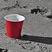 Red Solo Cup Art Print