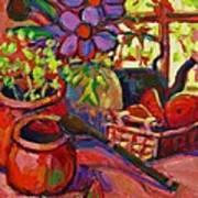 Red Still Life Art Print