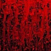 Red Streaks Art Print