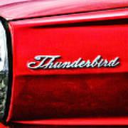 Red Thunderbird Art Print