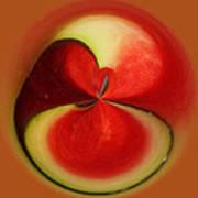 Red Watermelon Art Print