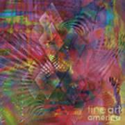 Redazzled - Square Version Art Print
