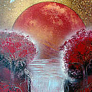 Redder Art Print