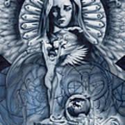 Redemption Art Print by Luis  Navarro