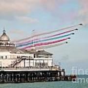 Reds Over Eastbourne Pier Art Print