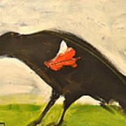 Redwing Muses Art Print