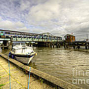 Reedham Swing Bridge  Art Print