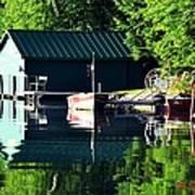 Reflecting Lake Art Print