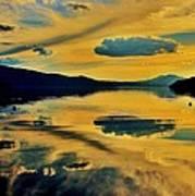 Reflect Art Print by Benjamin Yeager