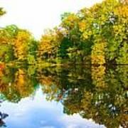 Reflected Autumn Glory Art Print