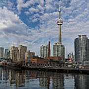 Reflecting On Toronto And Harbourfront  Art Print