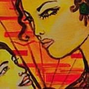 Reflection At Dawn Art Print